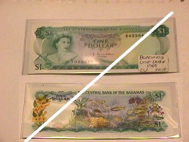 Bahamanian 1 Dollar Note