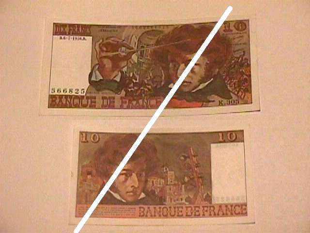 French 10 Franc Note