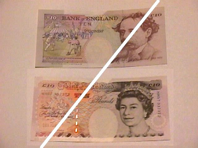 British 10 Pound Note