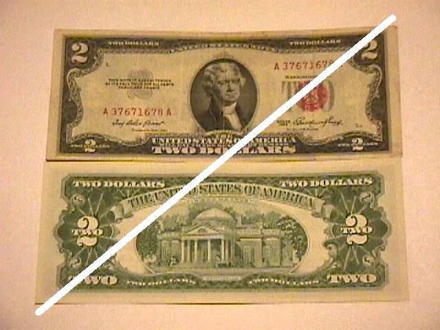 2 Dollar United States Note