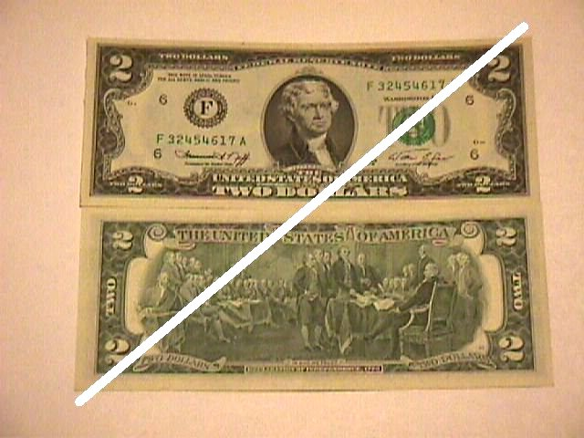 USA 2 Dollars Federal Reserve Note