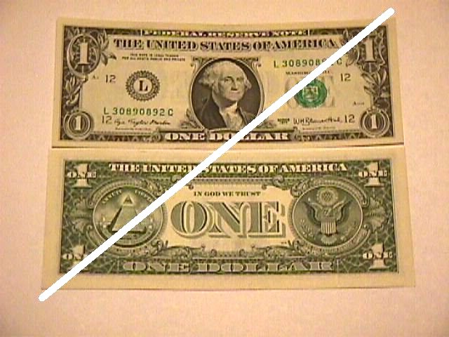 USA 1 Dollar Federal Reserve Note