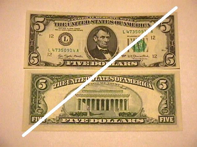 USA 5 Dollars Federal Reserve Note