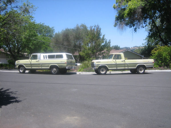 As you can see in the picture I have twin trucks and one of them needs a canopy. It doesnu0027t have to match the other one. & 73-79 ford truck stock canopy - Ford Truck Enthusiasts Forums